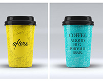 Packaging and menu design for Afters