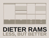 Dieter Rams: Less, But More