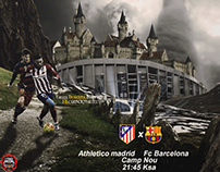 Athletico madrid Vs Fc Barcelone 2016