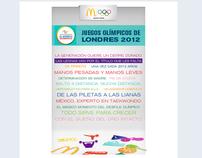Mcdonald's Facebook Fan Page Juegos Olímpicos