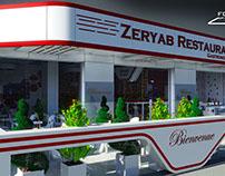 Design restaurant Alger, par FOXNAS