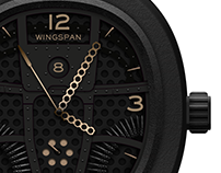 WINGSPAN B25 Timepiece, Concept.