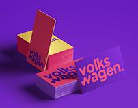 VW - Volkswagen Brand Re-design