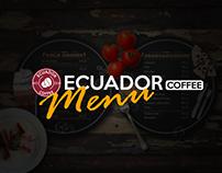 Ecuador Coffee - Menu