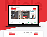 Online store for Miele partner