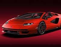 2021 Lamborghini Countach Roadster