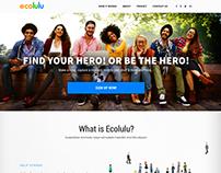 Ecolulu Landing Page