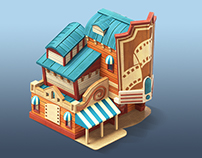 Resort. iOS Game
