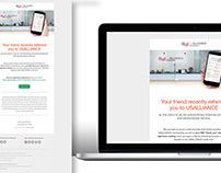 USALLIANCE Financial Email Template Redesign
