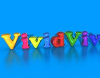 VividVivix Bubbly Text