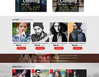 Fshion ecommerce template design
