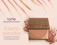 tarte Summer event collateral