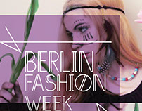 Berlin fashion week poster
