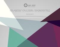 iCar Website Design