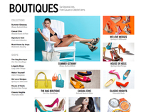 ShoeDazzle UI Design