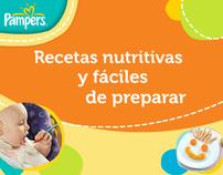 Banner Pampers Recetas