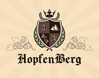 Brewery HopfenBerg || Brand Design