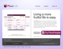Plum Life Website Redesign