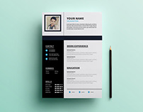 Free Resume Template with Clean Design