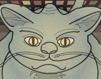 the childhood of catcorn o gatocornio