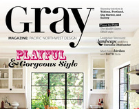 GRAY MAGAZINE #1 - Mediterranean House