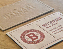 Identity and Business Cards - Ballast Creative