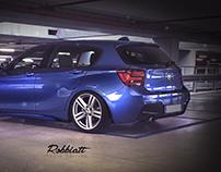 BMW F20 1series - Photo editing