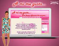 A MI ME GUSTA - DISEÑO WEB - 2010
