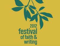 2012 Festival of Faith & Writing