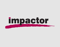 Design of The Impactor Awards website