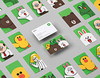 LINE FRIENDS Branding Project