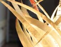 Up-cycled Lamp