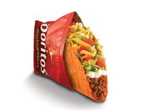Taco Bell's Doritos Locos Tacos Campaign Design