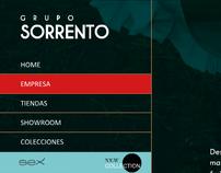 Grupo Sorrento - Web