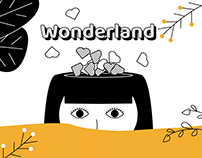 HYE SUNG - Wonderland (w/Lym en) Motion graphics