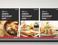 ZOMATO FOOD GUIDE 2012