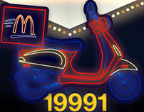 McDonald's Dreamland branch launch