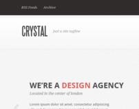 Crystal - PSD Template