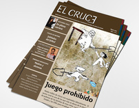 "Layout magazine ""El Cruce"""