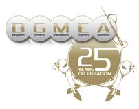 BGMEA 25 Years Celebration Logo