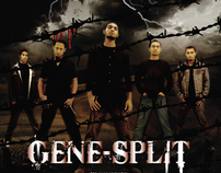 Gene-Split Band_Shottaggroho Album Design