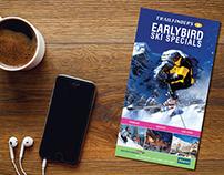 British Airways Alamo Ski Leaflet