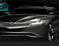 Skoda Redesigned by me for Radim