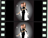 Animated Wedding Clip