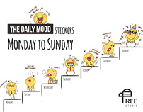 The Daily Mood - Stickers