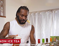 Smirnoff - Open Drink with Chris Gayle