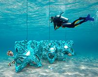 Kiekari - Light emisive Artificial Reef