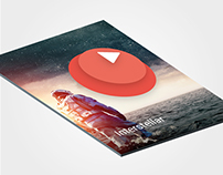 Movie Card Animation - Material Design