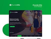 Poundsmile UI/UX Design