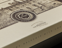Balvenie&Arcádia Chocolate Packaging